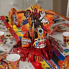 Power Rangers Party Decoration Ideas