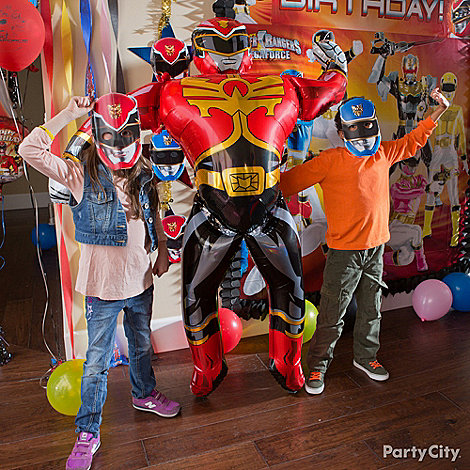 Power Rangers Party Ideas: Games & Activities