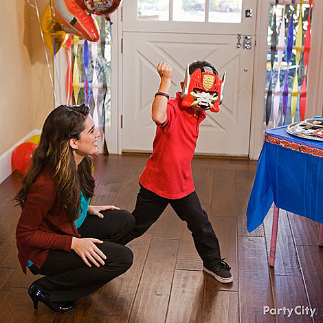 Power Rangers Party Ideas: Costumes & Dress-Up
