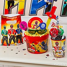 Power Rangers Party Favor Ideas