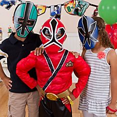 Power Rangers Party Dress-Up Ideas