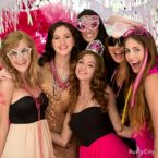 Trendy Pink & Black Graduation Party Ideas