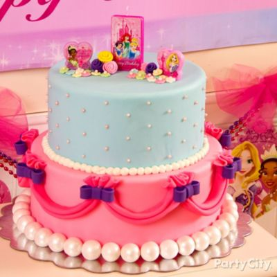 Disney Princess Fondant Cake HowTo Party City