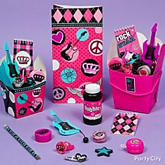 Rocker Girl Party Favor Ideas