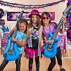 Rocker Girl Party Dress-Up Ideas