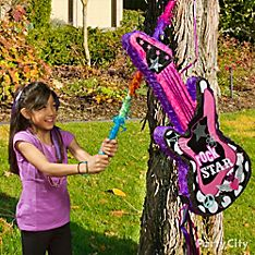 Rocker Girl Party Game & Activity Ideas