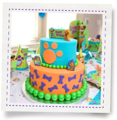Scrappy ScoobyDoo Cake HowTo Party City