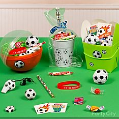 Soccer Party Favor Ideas