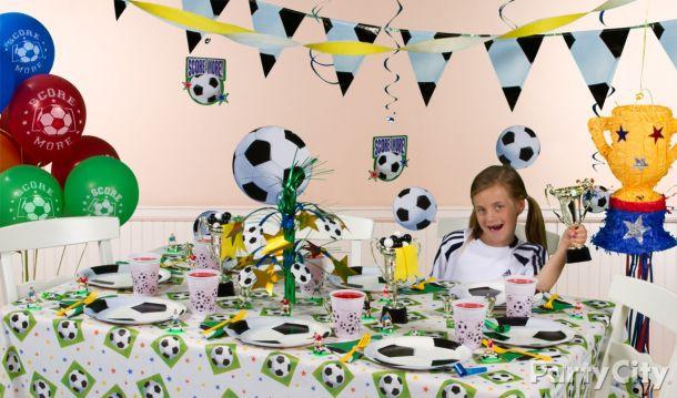 Сценарий дня рождения в стиле футбола 95