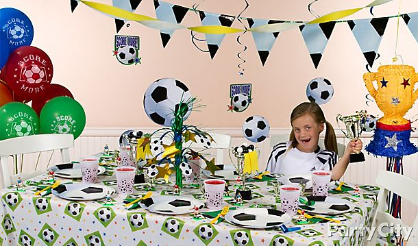 Soccer Party Ideas!