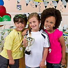 Soccer Party Dress-Up Ideas