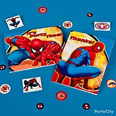 Spider-Man Party Invitation Ideas