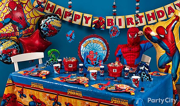 Spider-Man Party Ideas!