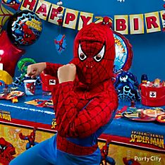 Spider-Man Party Dress-Up Ideas