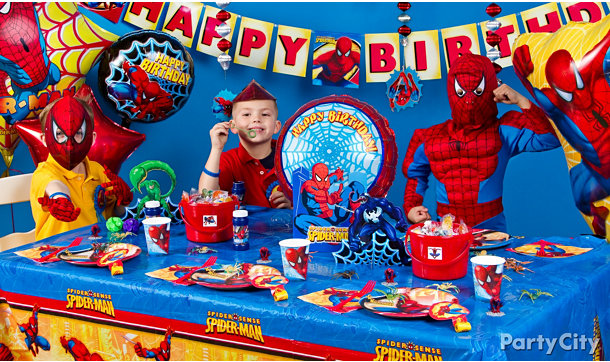 spider man party ideas print entire guide spider man party ideas try ...