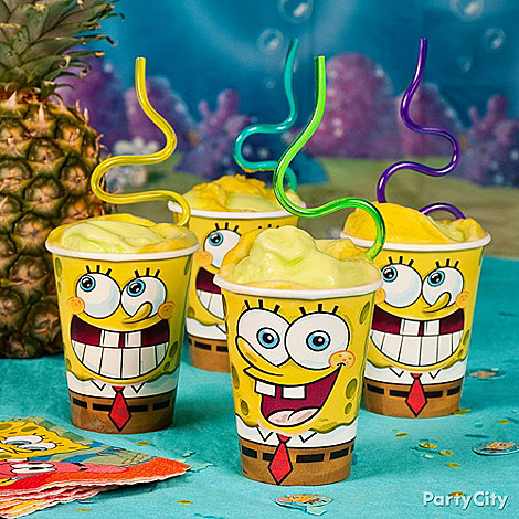 Sponge Bob Party Ideas: Food