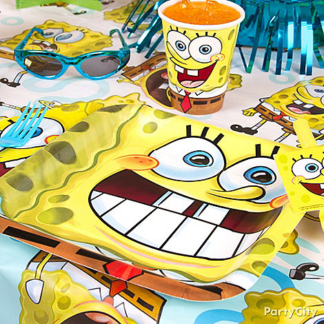 SpongeBob Party Ideas: Decorations