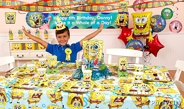 SpongeBob Party Ideas!