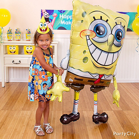 Sponge Bob Party Ideas: Games & Activities