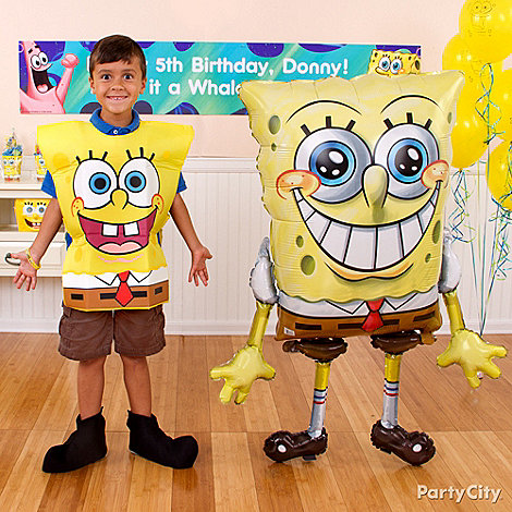 Sponge Bob Party Ideas: Costumes & Dress-Up
