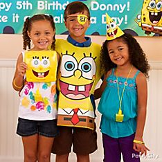 SpongeBob Party Dress-Up Ideas