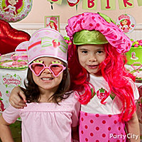 Strawberry Shortcake Party Dress-Up Ideas - Click to View Larger