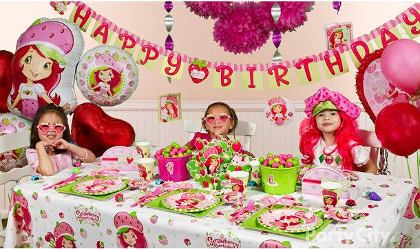 Strawberry Shortcake Birthday Party Ideas City