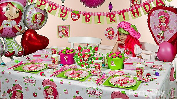 Strawberry Shortcake Party Ideas!