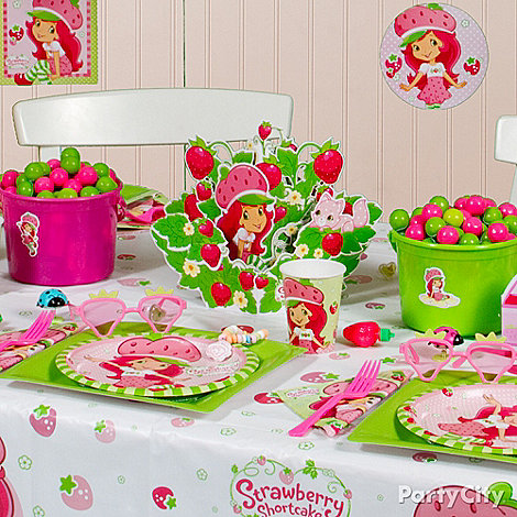 Strawberry Shortcake Birthday Party Ideas - Party City