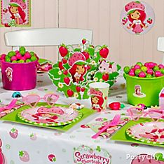 Strawberry Shortcake Party Decoration Ideas