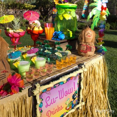 Luau Party Deco... Luau Food Ideas For Party