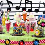 50s Theme Candy Buffet Ideas