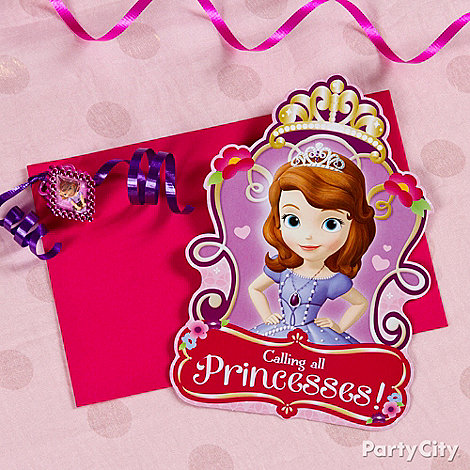 Sofia the First Ideas: Invitations
