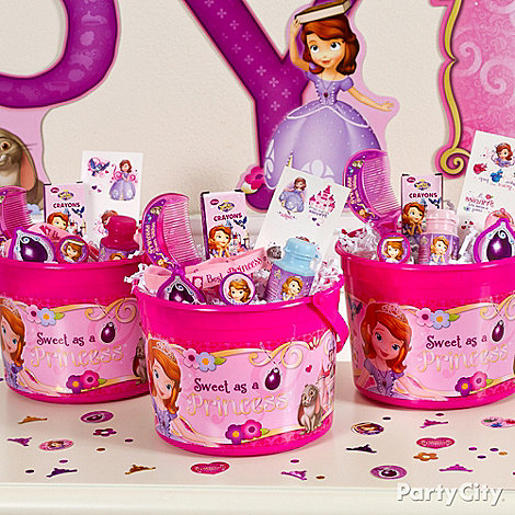 Sofia the First Ideas: Favors