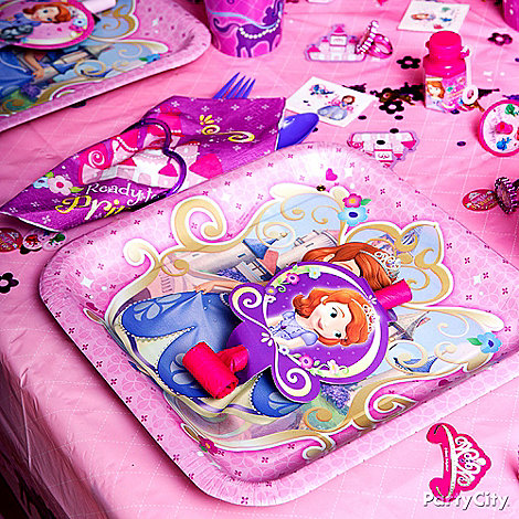 Sofia the First Party Ideas: Decorations