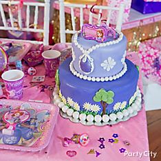 Sofia the First Cake Ideas