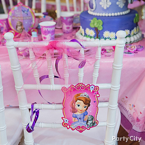 Sofia the First Ideas: Decorations