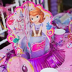 Sofia the First Party Decoration Ideas