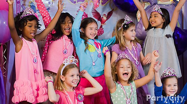 Sofia the First<br /> Party Ideas!
