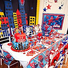 Spider-Man Party Decoration Ideas