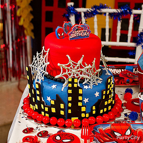 Spider Man Party Ideas Spiderman Birthday Ideas Party City