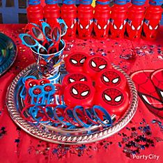 Spider-Man Party Favor Ideas