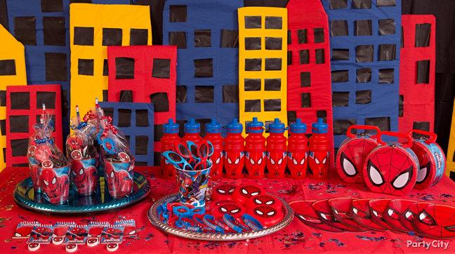 Spider Man Party Ideas Spiderman Birthday Ideas Party City