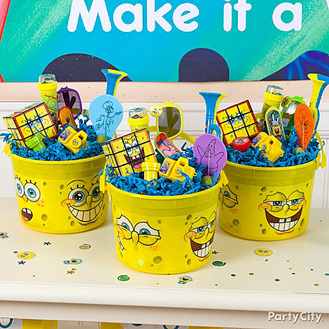 SpongeBob Party Ideas: Favors