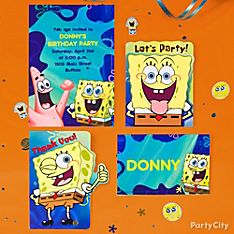 SpongeBob Party Invitation Ideas