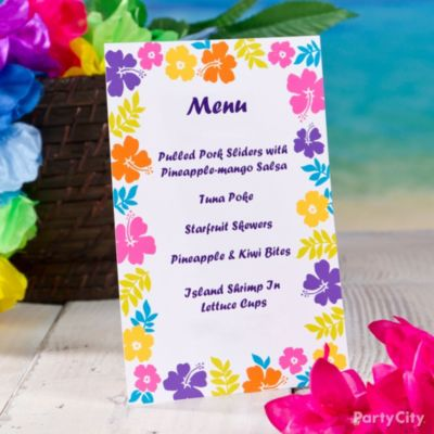 Best Luau Food Ideas & Recipes - Party City