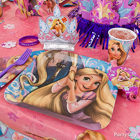 Tangled Party Ideas: Decorating