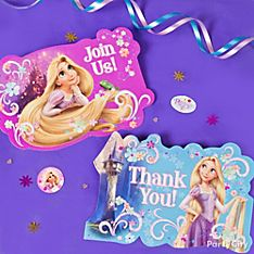 Tangled Party Invitation Ideas