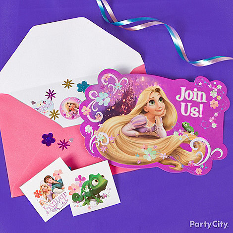 Tangled Party Ideas: Invitations