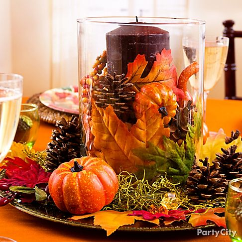 Thanksgiving ideas thanksgiving decorating ideas party city for Thanksgiving home ideas
